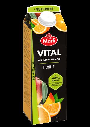 Marli Vital Appelsiini-mango + ACE-vitamiinit ei lisättyä sokeria 1 L