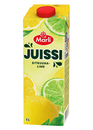 Marli Juissi Sitruuna-limemehujuoma 1L