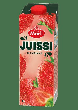 Marli Juissi Mansikkamehujuoma 1L